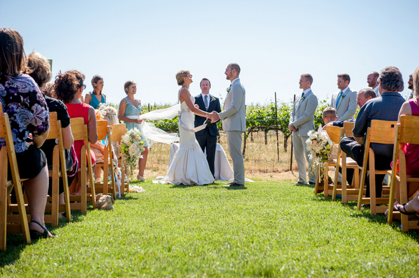Vineyard Wedding California