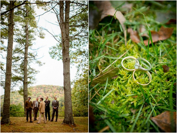 Outdoor Forest Wedding on the Connecticut River