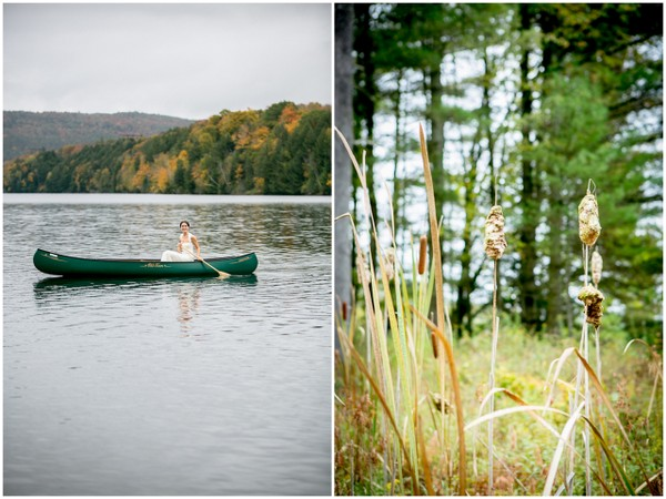 outdoor wedding in forest Outdoor Forest Wedding on the Connecticut River