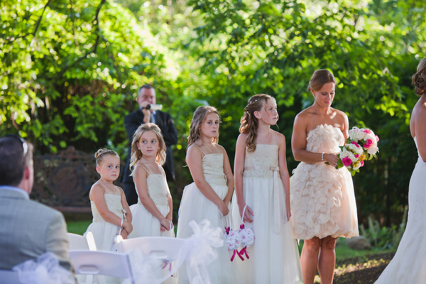 Second Wedding Ideas with Children