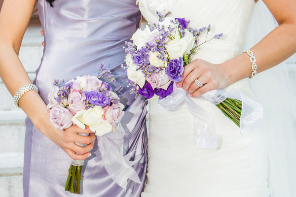 Lilac and White Wedding Florida