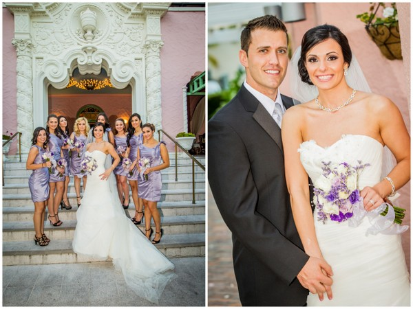 Lilac and White Wedding St Petersburg