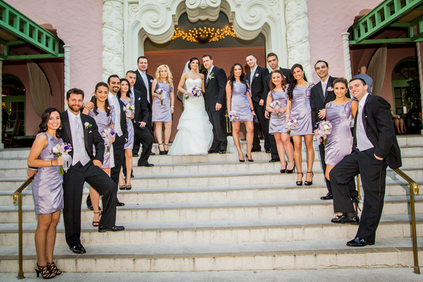 lilac white wedding 10 Majestic Renaissance Vinoy Wedding by Gary Kaplan Photography