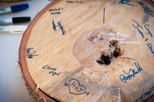 Eco Friendly Reclaimed Wood Guest Book | Love Wed Bliss