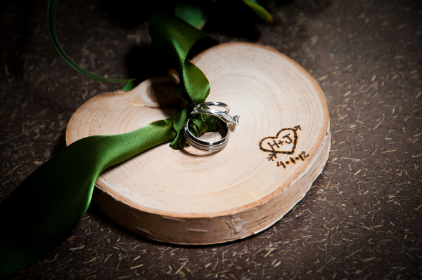 Eco Friendly Ring Pillow | Love Wed Bliss