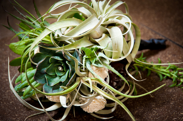 Succulent Wedding Bouquet | Love Wed Bliss