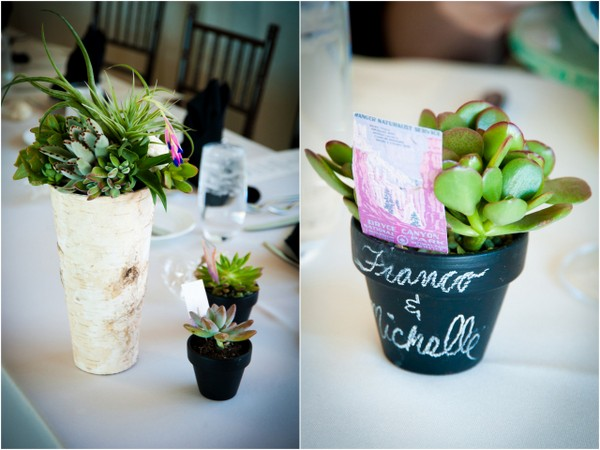 Succulent Wedding Favors | Love Wed Bliss