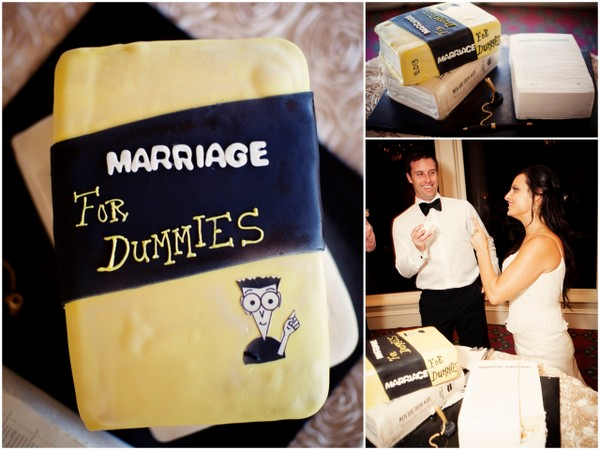 Marriage For Dummies Wedding Cake