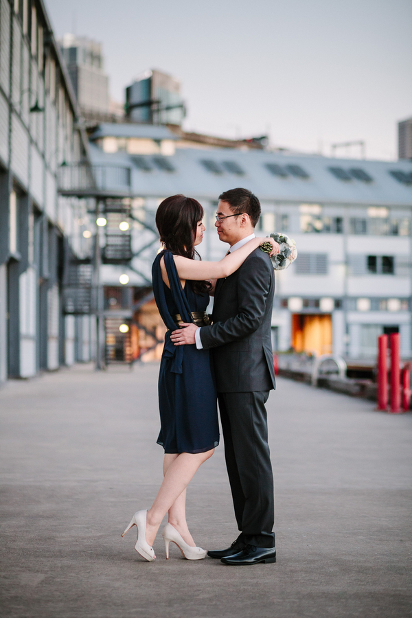 sydney harbourside wedding photos Sydney City Wedding by Hilary Cam Photography