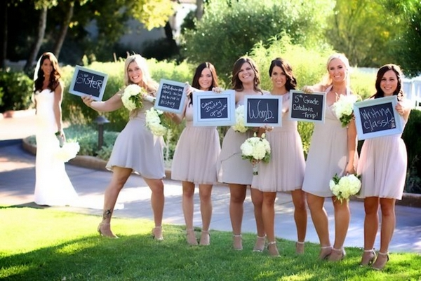 California Bridesmaids Pastel Rustic Chic