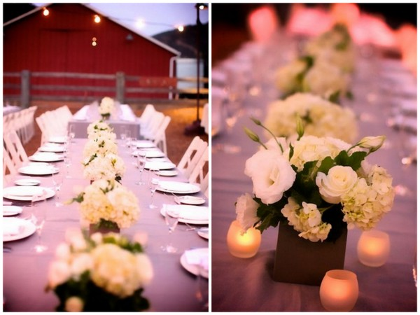 Outdoor Barn Wedding California