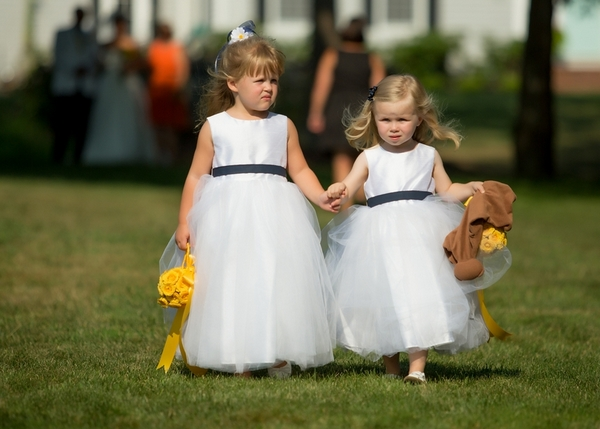 Maritime Themed Flower Girls