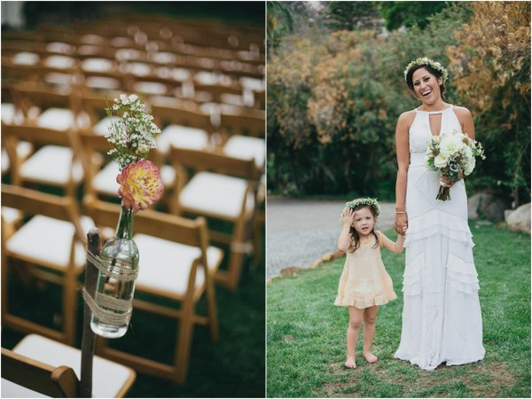 Coral & Pink Outdoor Wedding | Love Wed Bliss