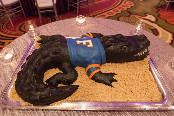 Alligator Groom's Cake