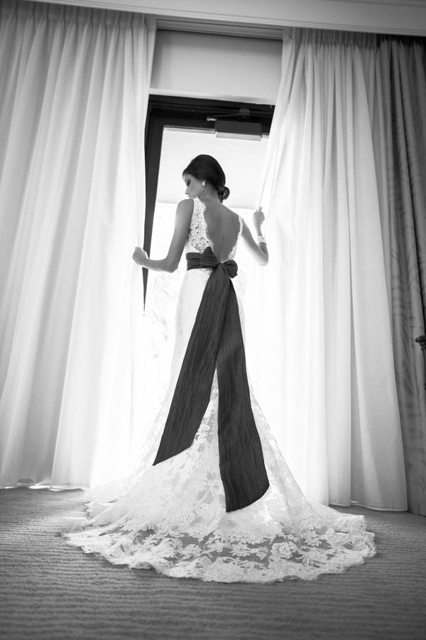 Beautiful Bride in Black and White | Love Wed Bliss