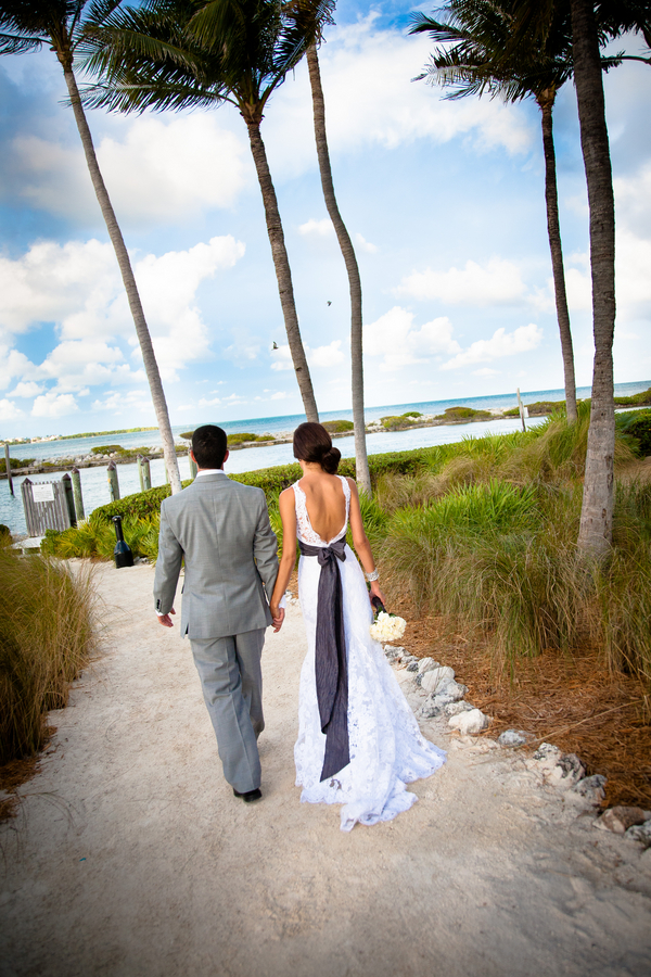 Bride & Groom at Hawkes Cay Resort | Love Wed Bliss