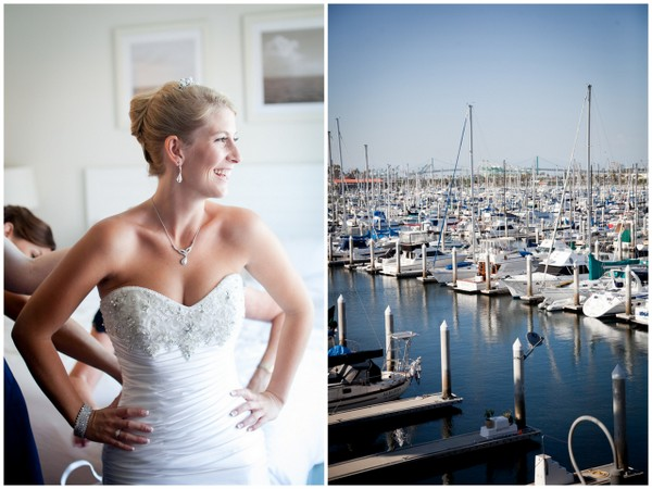 Los Angeles Yacht Club Wedding