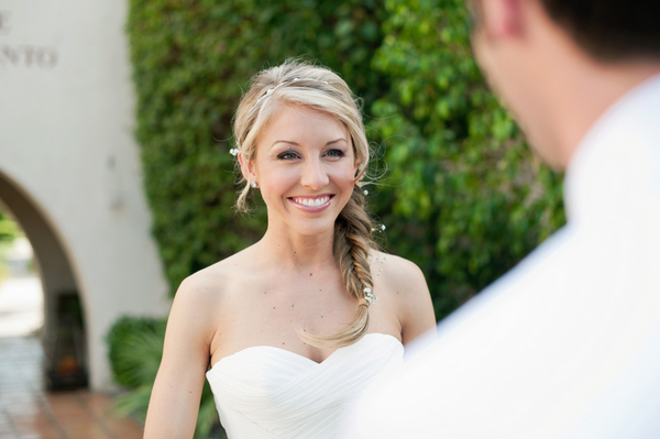 first glance california wedding Outdoor California Wedding at Miramonte Resort and Spa