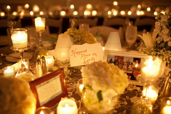 Ideas for Candlelit Wedding Tables