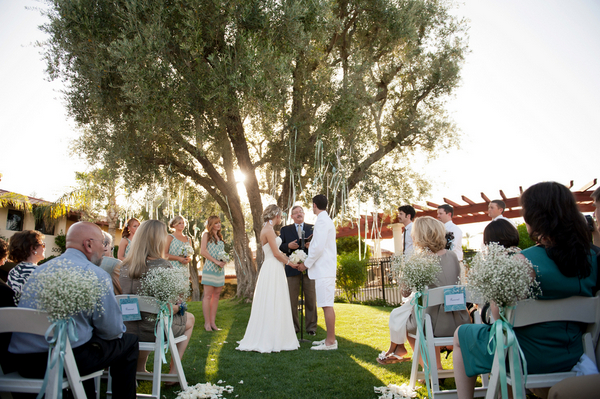 miramonte resort and spa wedding ceremony Outdoor California Wedding at Miramonte Resort and Spa