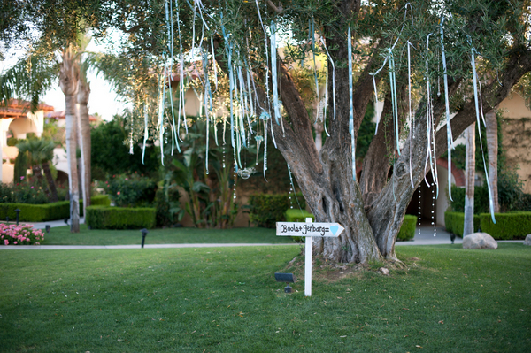 outdoor wedding ceremony decorations Outdoor California Wedding at Miramonte Resort and Spa