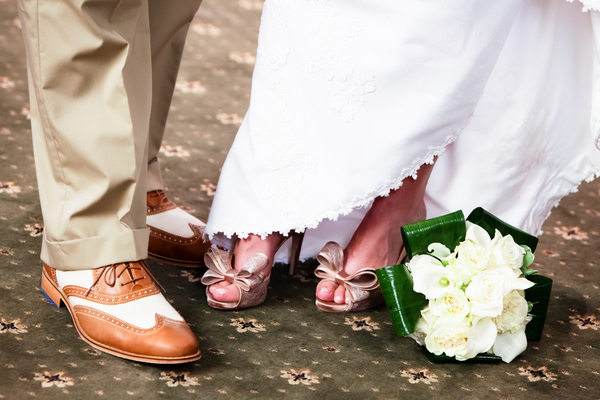 Bride & Groom Shoes Wedding Theme | Love Wed Bliss