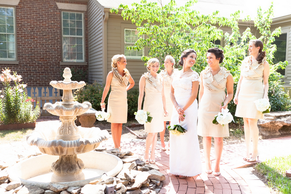 Neutral Bridesmaids for Wedding | Love Wed Bliss