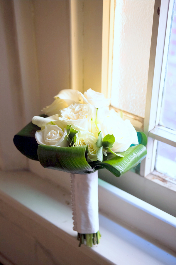 Spring Bridal Bouquet in White | Love Wed Bliss