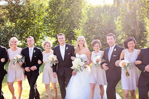 Alberta Garden Wedding Party