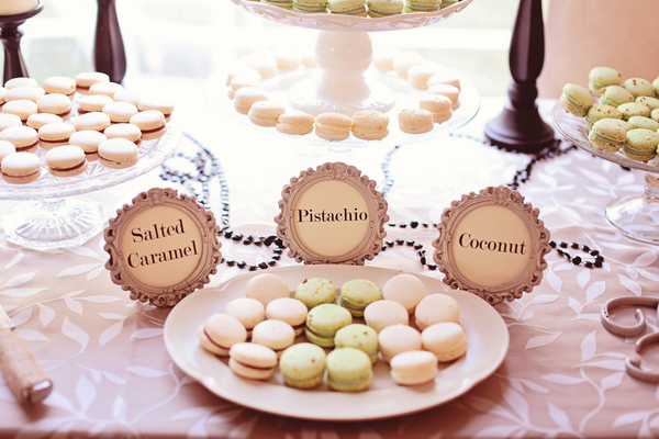 Macarons for Outdoor Garden Party