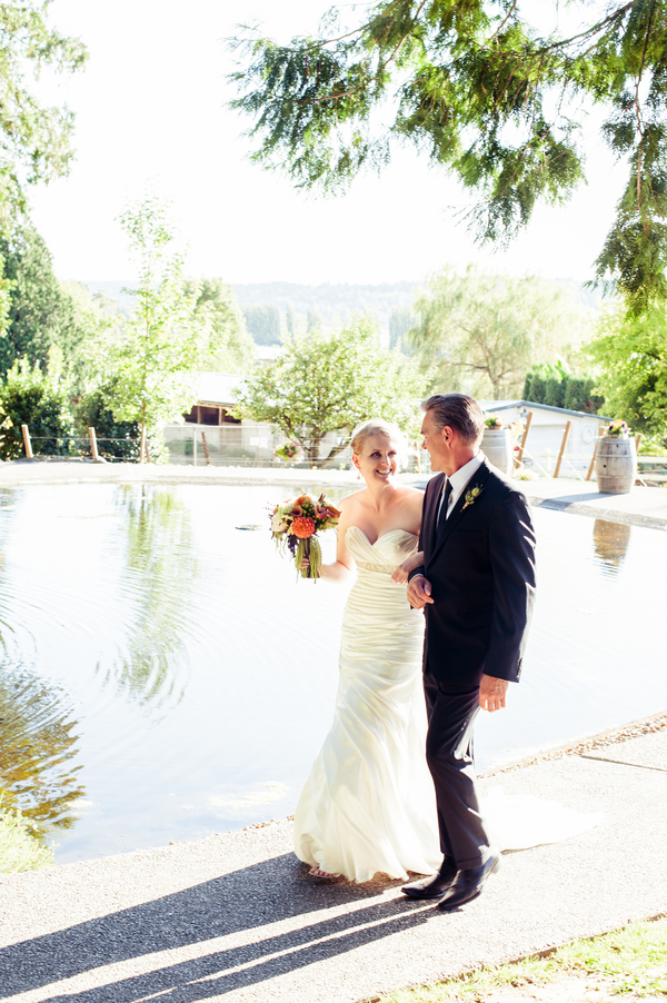 Tuscan Theme Washington Wedding