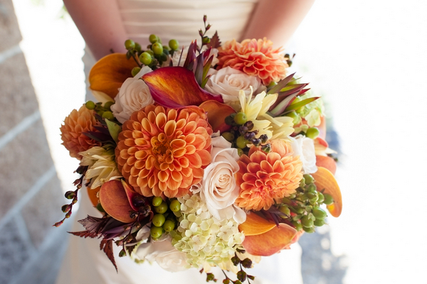 Tuscan Theme Wedding Bouquet