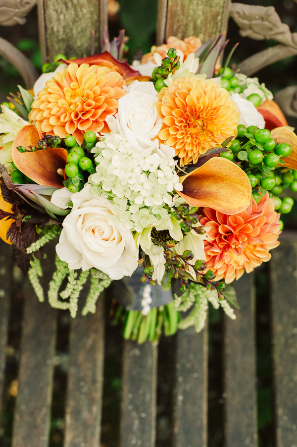 Tuscan Themed Wedding Bouquet