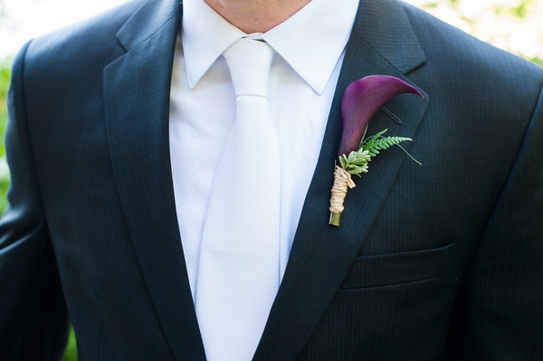 Tuscan Themed Wedding Boutonniere