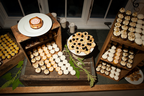 Tuscan Themed Wedding Dessert Buffet