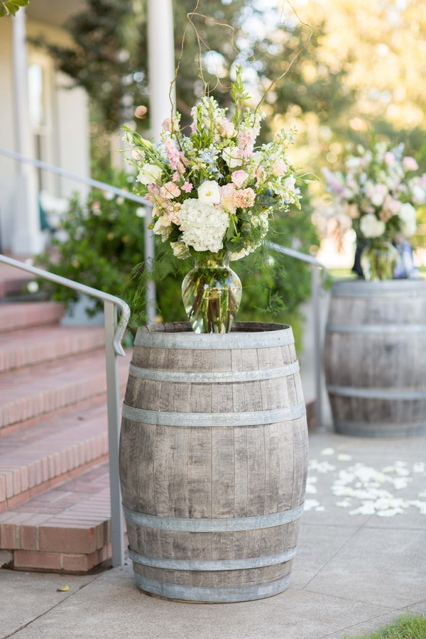 rustic chic wedding decor 5 Pretty Pastel Rustic Chic Wedding by TréCreative Film & Photo