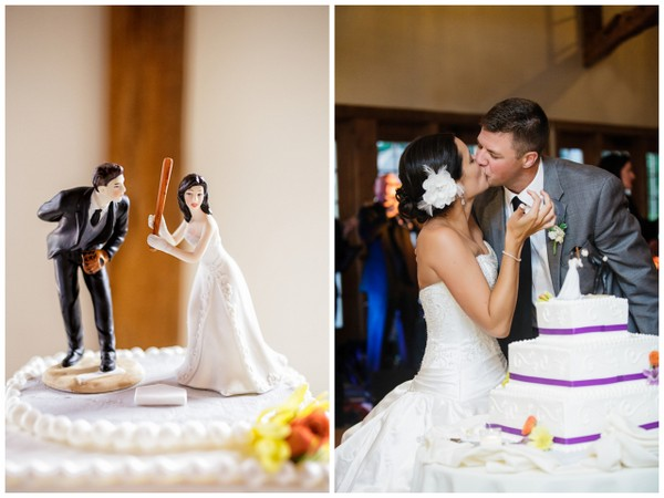 cake topper pennsylvania wedding La Massaria At Bella Vista Wedding by Ashley Gerrity Photography