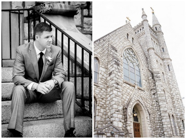 groom pennsylvania wedding La Massaria At Bella Vista Wedding by Ashley Gerrity Photography