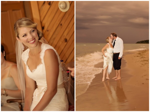 Lake Michigan Wedding Rustic Theme