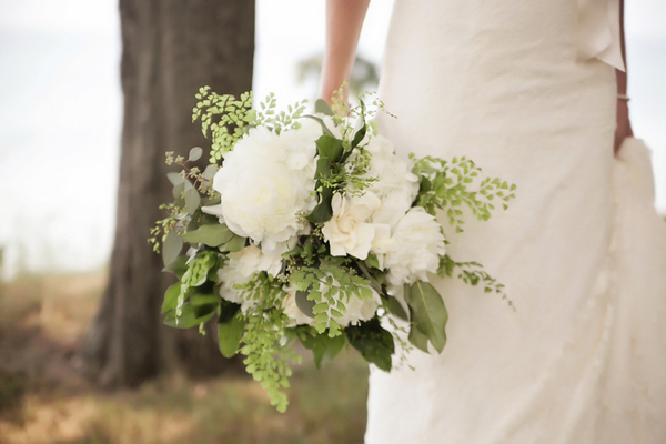 Rustic Wedding Bouquet Lake Michigan