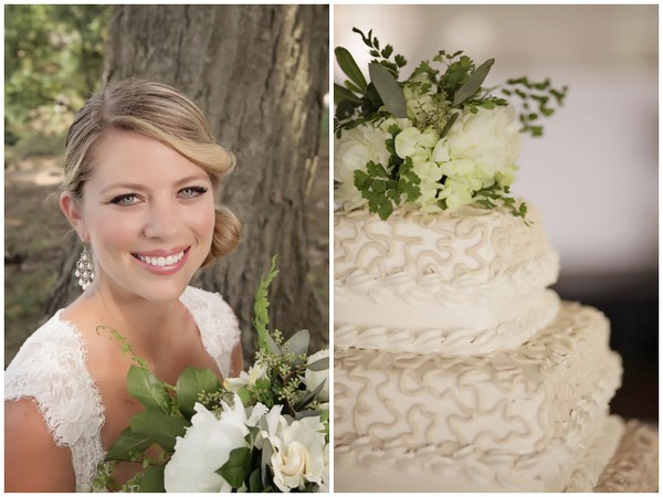 White & Neutrals Rustic Wedding Theme