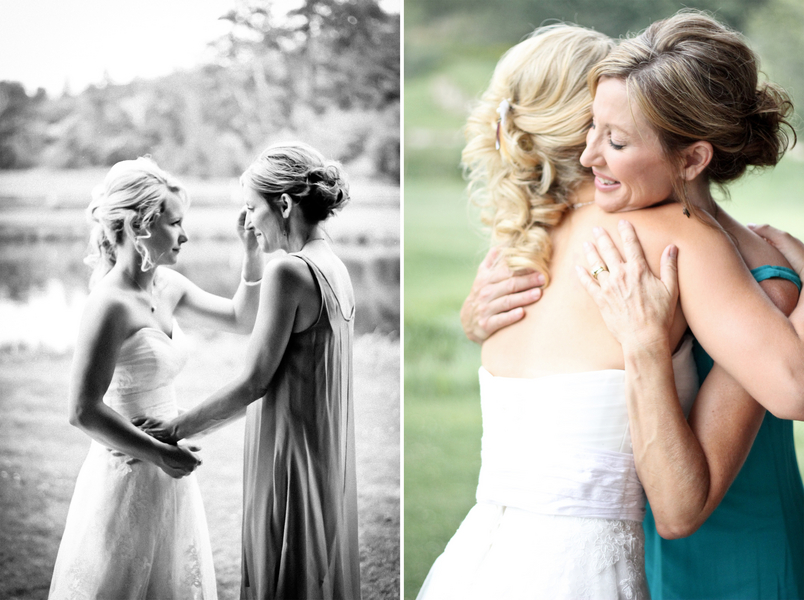 montana bride and bridesmaid Red Lodge Montana Wedding by Kat Skye Photography