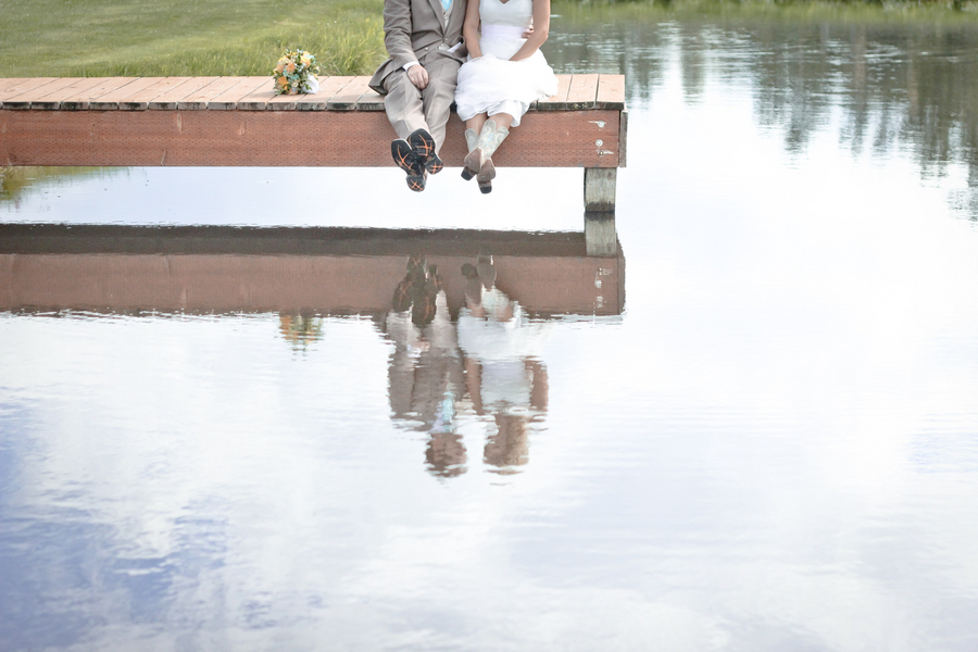 Rustic Wedding with Cowboy Boots