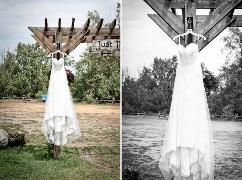 Rustic Wedding Dress Montana