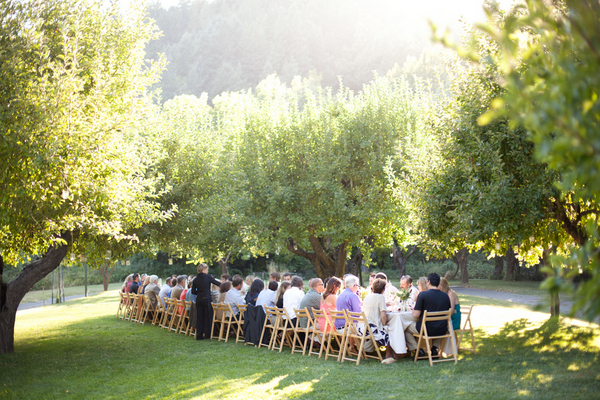 Orchard Wedding Reception California | Love Wed Bliss