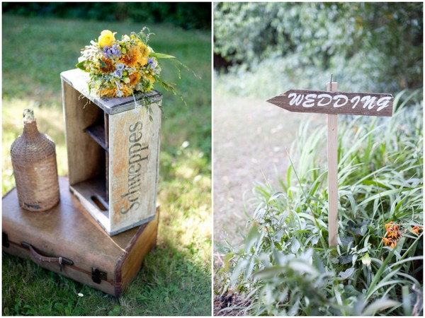 Rustic Details at Outdoor Wedding | Love Wed Bliss