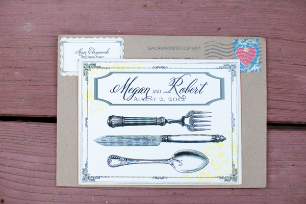Rustic Garden Wedding Invitations | Love Wed Bliss