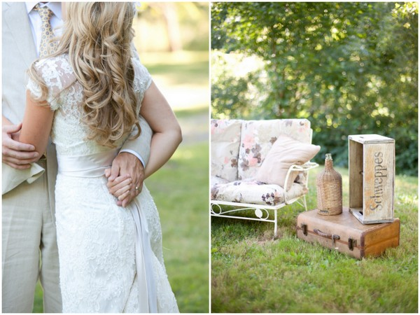 Rustic Orchard California Wedding