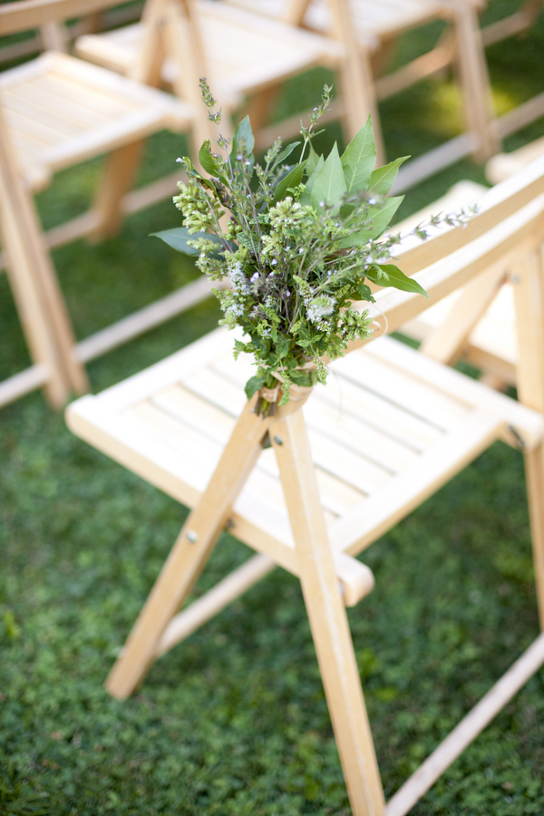Rustic Wedding Ceremony Seating | Love Wed Bliss