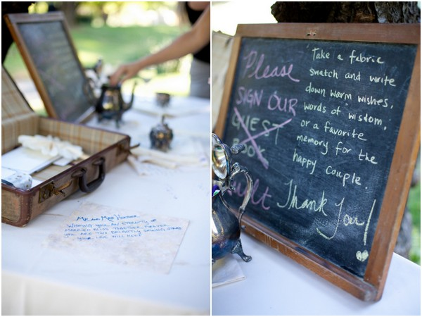 Sign Quilt Wedding Guest Book | Love Wed Bliss